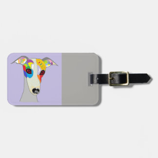 WHIPPET LUGGAGE TAG