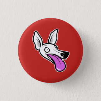 Whippet Madness 1 Inch Round Button