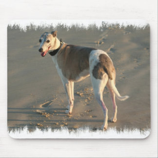 Whippet Mouse Pad