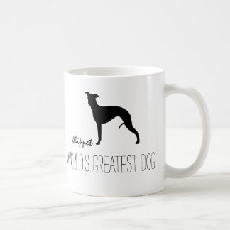 Whippet Silhouette World's Greatest Dog Coffee Mug