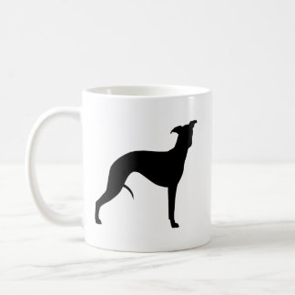Whippet Silhouettes Coffee Mug
