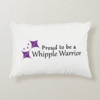 Whipple Warrior Pillow Logo