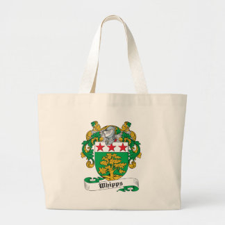 Whipps Family Crest Jumbo Tote Bag