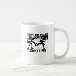 whips and chains excite me coffee mug
