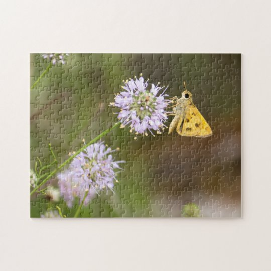 Whirlabout Orange Butterfly Jigsaw Puzzle