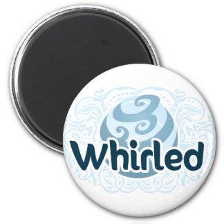 Whirled Logo Magnet