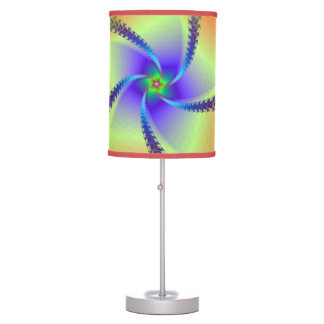 Whirligig in Red and Yellow Table Lamps