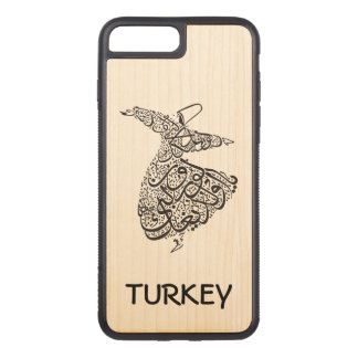 Whirling Dervish Carved iPhone 8 Plus/7 Plus Case