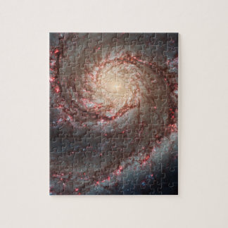Whirlpool Galaxy Jigsaw Puzzle