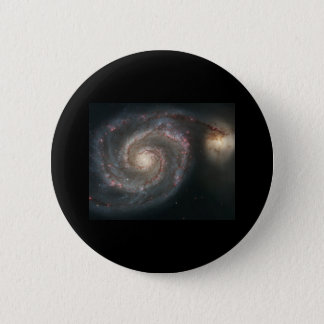 Whirlpool Galaxy (M51) 2 Inch Round Button