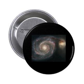 Whirlpool Galaxy (M51) 2 Inch Round Button