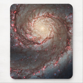 Whirlpool Galaxy Mouse Pad