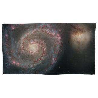 Whirlpool Galaxy Pillowcases