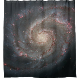 Whirlpool Galaxy Shower Curtain