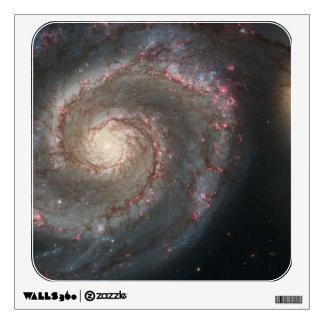 Whirlpool Galaxy Wall Decal