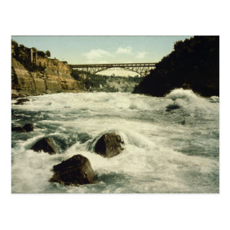 Whirlpool Rapids Niagara Falls New York 1898 Postcard