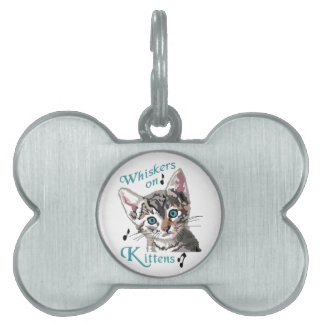Whiskers On Kittens Pet Name Tag