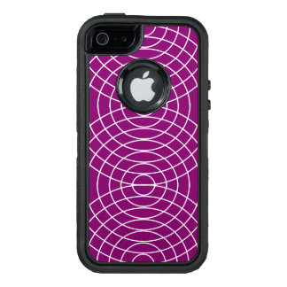 Whiskers on Violet Design OtterBox iPhone 5/5s/SE Case
