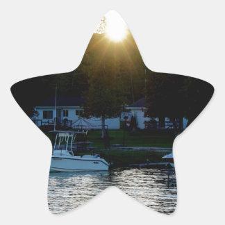 Whiskey Bay, St Joseph Island Star Sticker