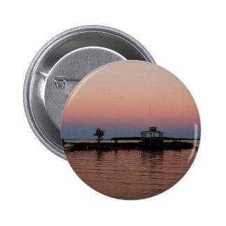 Whiskey Bay Sunset, St Joseph Island 2 Inch Round Button