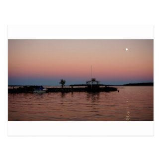 Whiskey Bay Sunset, St Joseph Island Postcard