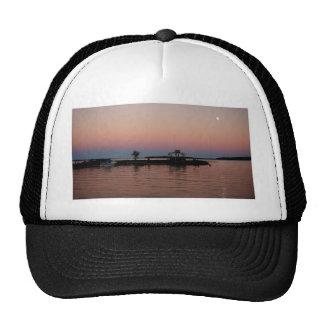 Whiskey Bay Sunset, St Joseph Island Trucker Hat