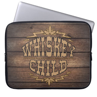 WHISKEY CHILD - Laptop Sleeve w/Fall Harvest Logo