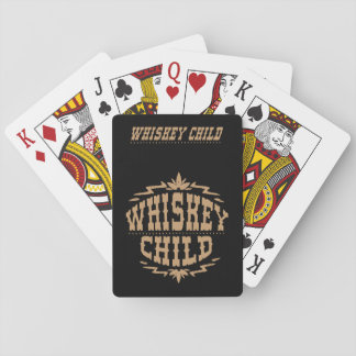 WHISKEY CHILD - Playing Cards w/Fall Harvest Logo