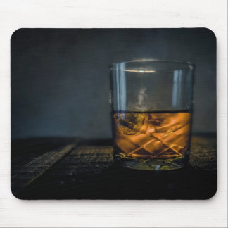 Whiskey Glass Mouse Pad