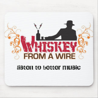 Whiskey Mouse Pad