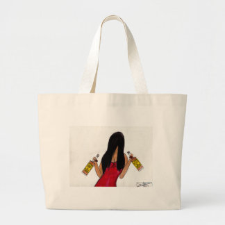 Whiskey or Whiskey Large Tote Bag