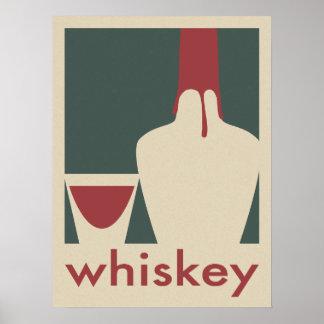 Whiskey Poster