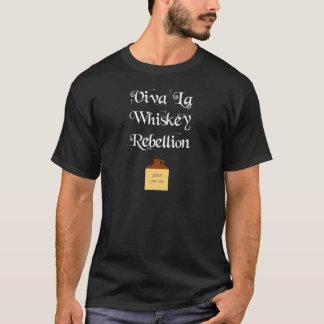 Whiskey Rebellion (White text) T-Shirt