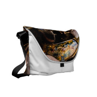 Whiskey Shot Courier Bag