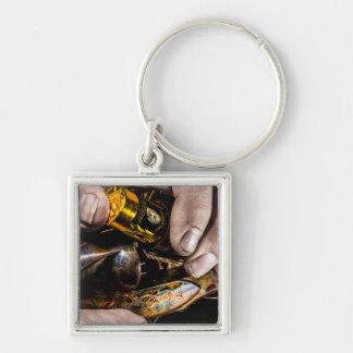 Whiskey Shot Keychain