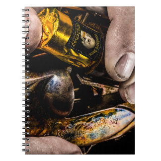 Whiskey Shot Spiral Notebook
