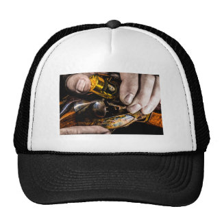 Whiskey Shot Trucker Hat