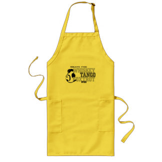 Whiskey Tango Foxtrot - Aviation Humor Long Apron
