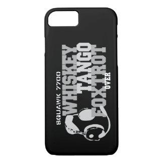 Whiskey Tango Foxtrot - Aviation Humour iPhone 8/7 Case
