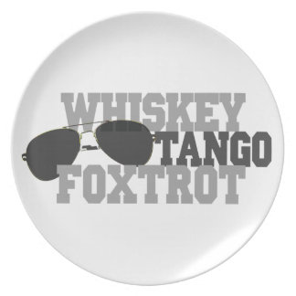 Whiskey Tango Foxtrot - Aviation sun glasses Plates