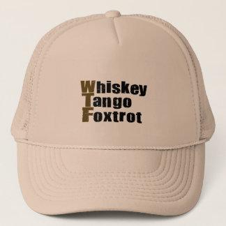 Whiskey Tango Foxtrot Trucker Hat