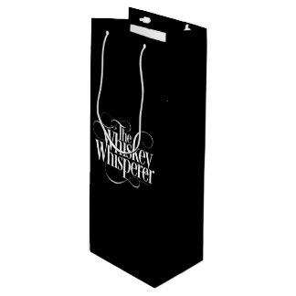 Whiskey Whisperer Wine Gift Bag