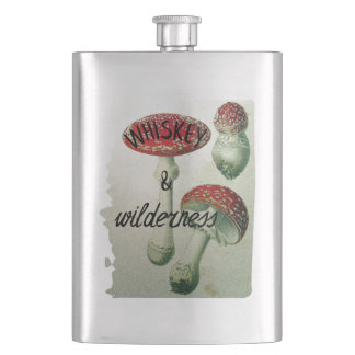 Whiskey & Wilderness Toadstool Flasks