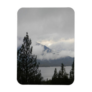 Whiskeytown Lake with the misting  fog... Magnet