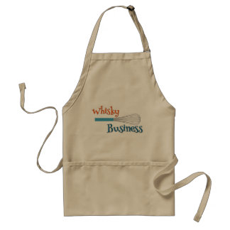 Whisky Business Kitchen Apron