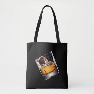 Whisky on the Rocks All-Over-Print Tote Bag