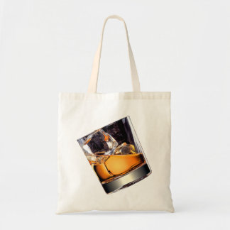 Whisky on the Rocks Budget Tote Bag