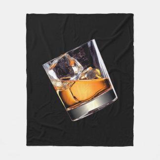 Whisky on the Rocks Fleece Blanket