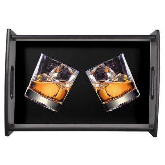 Whisky on the Rocks Serving Tray
