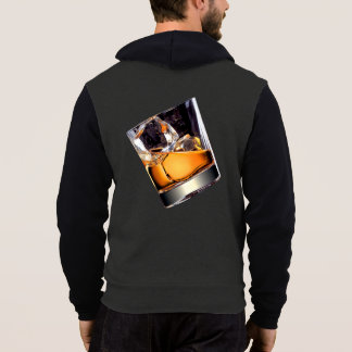 Whisky on the Rocks Zip Hoodie